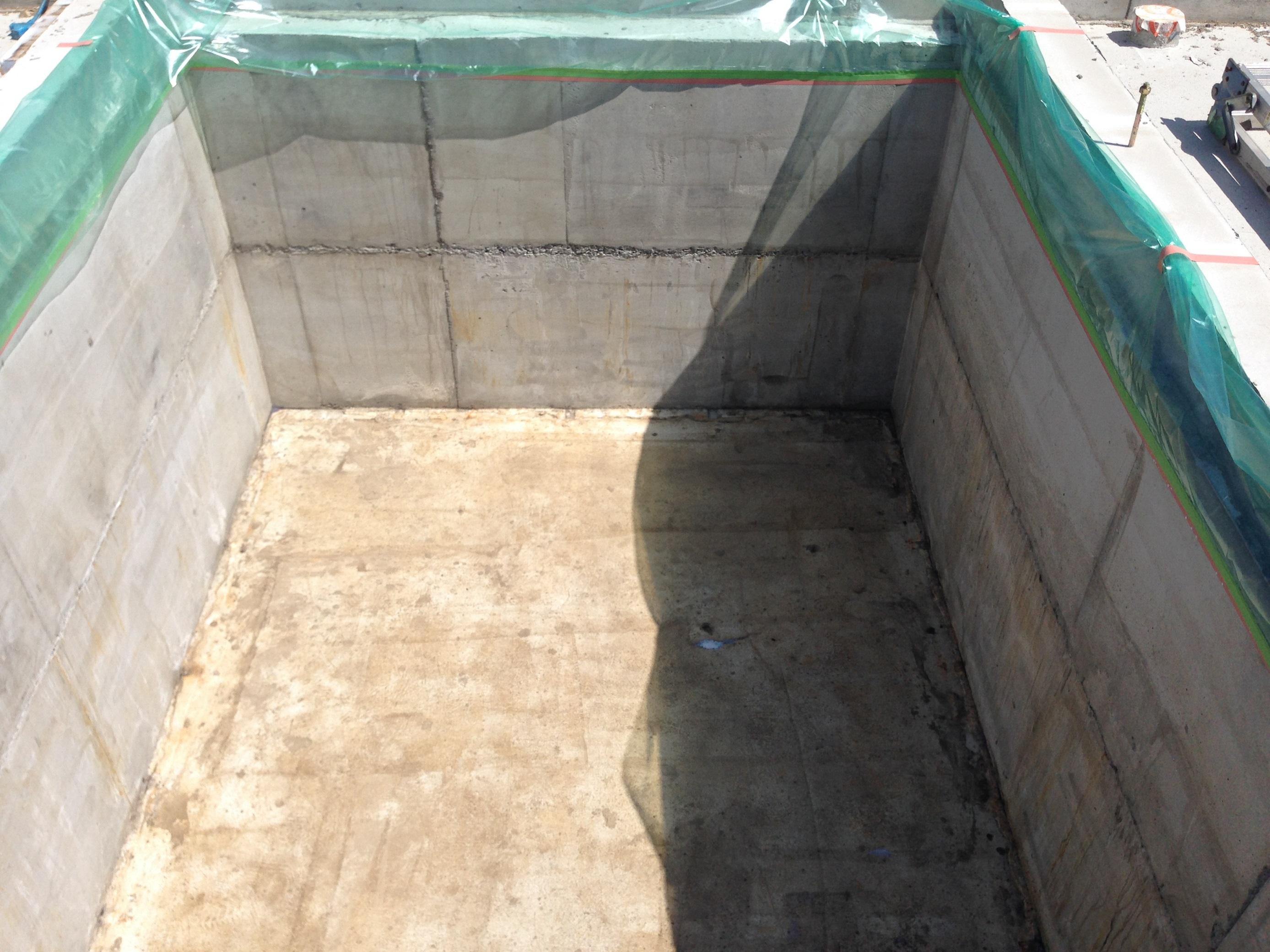 エレベーターピット防水工事